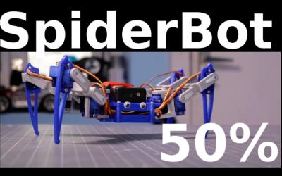 #SpiderBot50% – La nascita